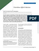 Current Status of Clostridium DifficileInfection