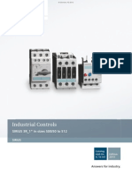 Siemens Sirius Industrial Controls Catalog