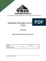 Triturador - TrioTIH 4102A Screen Manual (230) Spanish