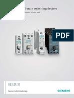 Siemens Sirius SSR Catalog
