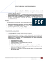 Plan de Contingencia Construccion 2013 - Copia