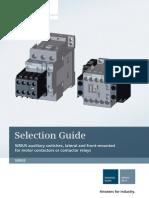 Siemens Sirius Series Auxiliary Catalog