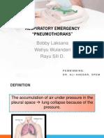 Pulmonary Emergency