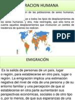 Migracion Humana Carmelitaaaaaaaaaaaaaaaaaa