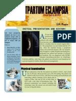Late Postpartum Eclampsia