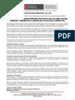 MINISTRO DEL INTERIOR PREPARA PROYECTO DE LEY PARA QUITAR PENSIÓN Y BENEFICIOS LABORALES.doc