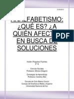 Informe Analfabetismo en América Latina