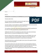 USPKenya AG Letter 25032014