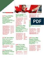 2014 Harry Jerome Start List
