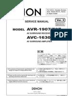 Denon AVR-1907 Service V02