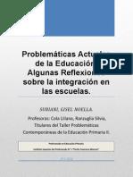 Problemáticas Actuales de La Educación Algunas Reflexiones