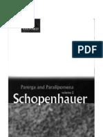 Schopenhauer - Parerga and Paralipomena,V.2