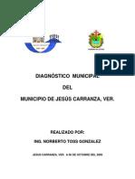 Jesús Carranza Diagnóstico