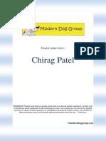 Chirag Patel Interview
