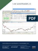 Bolsa Para Pc Latam Saxotrader 25 Guia Rapida Noviembre 2012