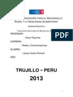 Trabajo de Lenguaje Unificado de Modelado (Uml)