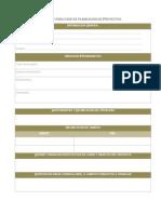 formato para fase de planeacin de proyectos