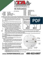 Rear End Girdle Instructions