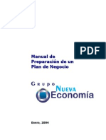 Manual de Preparación de Un Plan de Negocio