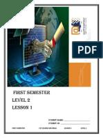 Seu Semester 1 Lv 2 Course Book