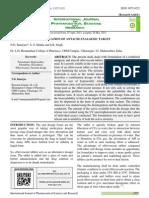 34 Vol. 4, Issue 6, June 2013, IJPSR, RA 2405, Paper 34