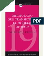 OGDEN Gregory Discipulado Que Transforma (Completo)