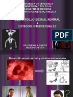 Desarrollo Sexual e Intersexualidad