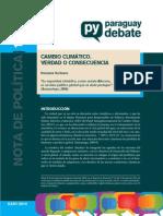 Nota de Politica 15 CAMBIO CLIMATICOB_correcciones Rosana