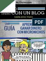 Como Ganar Dinero Con Un Blog 1.1 - By Chuiso