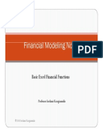 1 Basic Excel Financial Functions