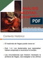 Analisis de Meditad en Hageo Isaac Del Valle y Jose David Morales