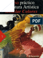 Curso Práctico de Pintura Artistica-Mezclar Colores-Parramon