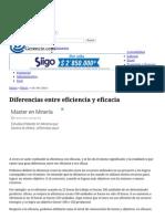 Diferencias Entre Eficiencia y Eficacia Gerencie.com