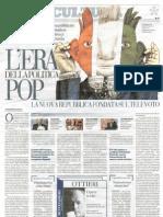 G. Mazzoleni, A. Sfardini L'era della politica POP (recensione Repubblica 09.10.08)