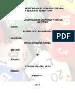 Estadistica y Probabilidades(Inter.confia-test.hipotesis)