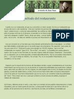 1. El Método Del Restaurante