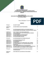Regulamento Da Educação Profissional Técnica de Nível Médio e Do Ensino Médio 2014
