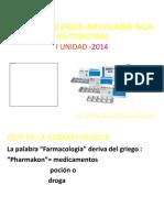 Farmacología Aplicada Ala Nutrición