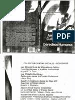 I Prologo, Capitulo1 - Antropología, Cultura Popular y Derechos Humanos