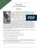 Basilio Valentin - El Carro Triunfal Del Antimonio - Completo