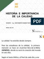 PPT_Historia e Importancia de La Calidad