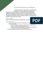 Análisis y Diagnóstico Del Territorio Urbano a Través Del Discurso Cinematográfico