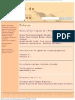 Enlaces - Museo Virtual de Fósiles Patagónicos