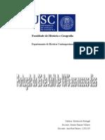 A sociedade Portuguesa no pós 25 de Abril - algumas considerações
