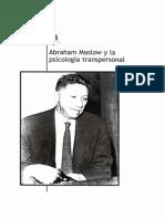 Maslow y La Psicología Transpersonal