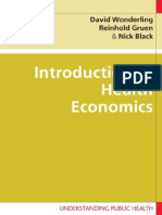 Economic evaluation and Policy