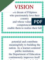 Mission Vision, Core Values