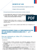Presentación Bases Curriculares