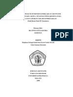 Penerapan PSAK No. 30 Mengenai Perlakuan Akuntansi Sewa Guna Usaha Aktiva Tetap Dan Pengaruhnya Pada Neraca Dan Laporan Laba Rugi Perusahaan Studi Kasus Pada PT. Nusantara