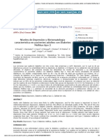 Niveles de Depresión y Sintomatología Característica en Pacientes Adultos Con Diabetes Mellitus Tipo 2